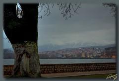 Ioannina ... HDR (Emil9497 Photography & Art) Tags: winter lake snow hellas greece ioannina d90 ipiros nikond90 concordians flickrestrellas pamvotislake