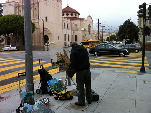 Painting Mission Dolores