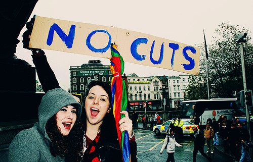 No Cuts; Student Protest Dublin 2010