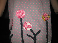 detail birthday dress