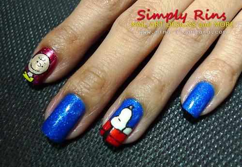 Nail Art- Snoopy 01