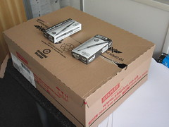 Staples delivery of 2 pen boxes
