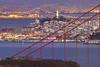 City Lights - The Spectacle (PatrickSmithPhotography) Tags: sanfrancisco sunset landscape cityscape goldengatebridge coittower baybridge headlands marincounty eastbay