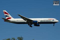 G-BNWN - 25444 - British Airways - Boeing 767-336ER - Heathrow - 100617 - Steven Gray - IMG_4107