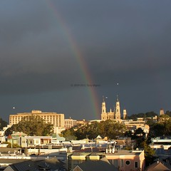 St. Ignatius Rainbow, San Francisco, CA, USA