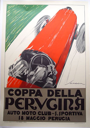008-Perugina circa 1925-© 2010 Vintage Auto Posters. All Rights Reserved