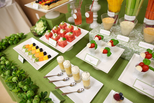 veggie dessert table 2