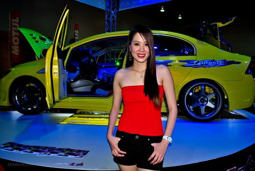5197256207 6f27ca5fdf Hot Sexy Models Shine at Manila Auto Salon 2010
