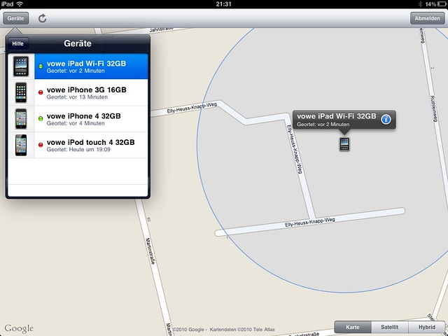"Mobile Me ""Find My iPhone"" now free for iPad, iPhone 4 and iPod 4"