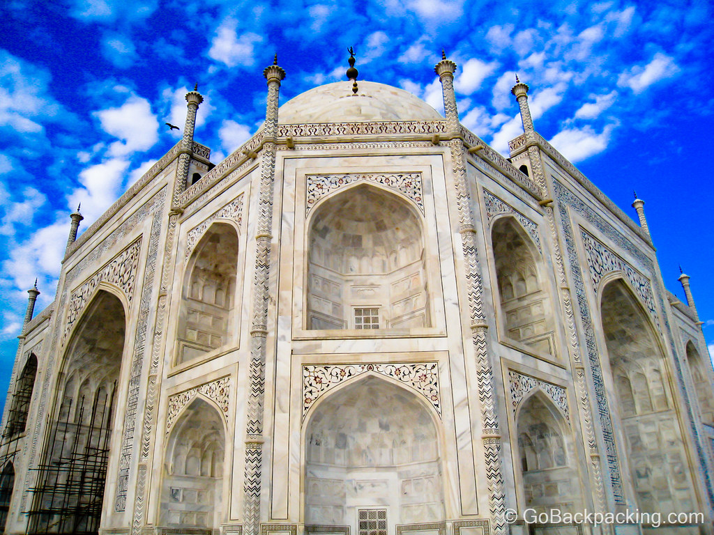 The Taj Mahal from a different perspective - Agra, India