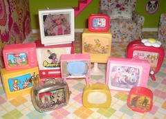 Tiny Televisions (Rainbow Mermaid) Tags: rainbowmermaid