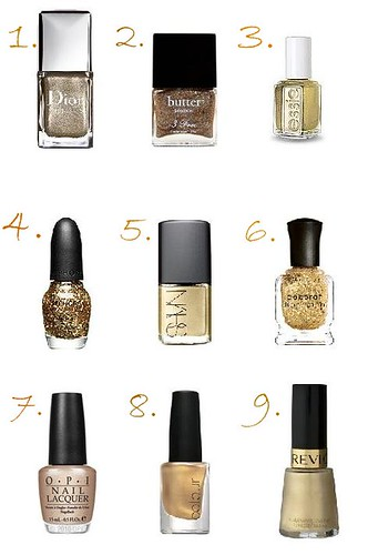 goldnailpolish