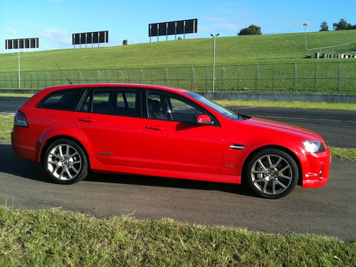 2011 Holden Ve Ii Commodore Sportwagon Ssv. Holden VE SS-V redline