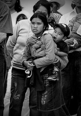 042 - Chiapaneca (Mr. Theklan) Tags: portrait blackandwhite blancoynegro girl mexico niña chiapas sancristobaldelascasas mexiko neska robado txuribeltz ltytr1