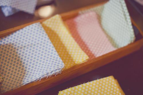 Wedding quilt squares