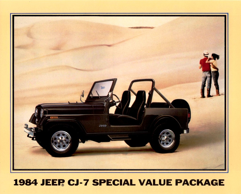1984 Jeep CJ-7 Special Value Package (Charcoal Metallic)