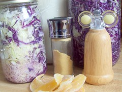 Creamy Cabbage Salad Ingredients
