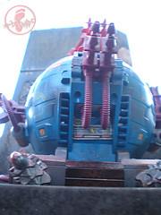 "TEENAGE MUTANT NINJA TURTLES :: ""Technodrome Scout Vehicle"" { 1993 } KB Toys Reissue // ..detail xx (( 1998 ))"