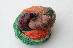 Yarn Pirate Merino Tencel Sock-- Ceres