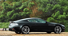 Aston Martin DBS (Thomas van Meijeren) Tags: blue red black holland netherlands rain weather yellow james photoshoot martin interior wheels bond petrol carbon zwart nero 60 aston 007 volante vantage jamesbond dbs v12