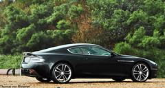 Aston Martin DBS (Thomas van Meijeren) Tags: blue red black holland netherlands rain weather yellow james photoshoot martin interior wheels bond petrol carbon zwart nero 60 aston 007 volante vantage jamesbond dbs v12