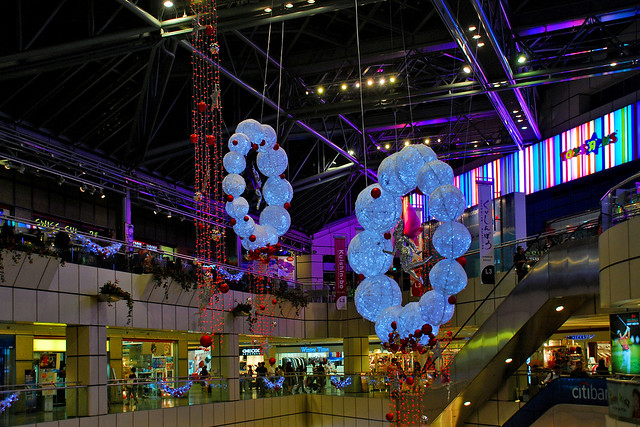 Christmas decorations at Suntec City, Singapore