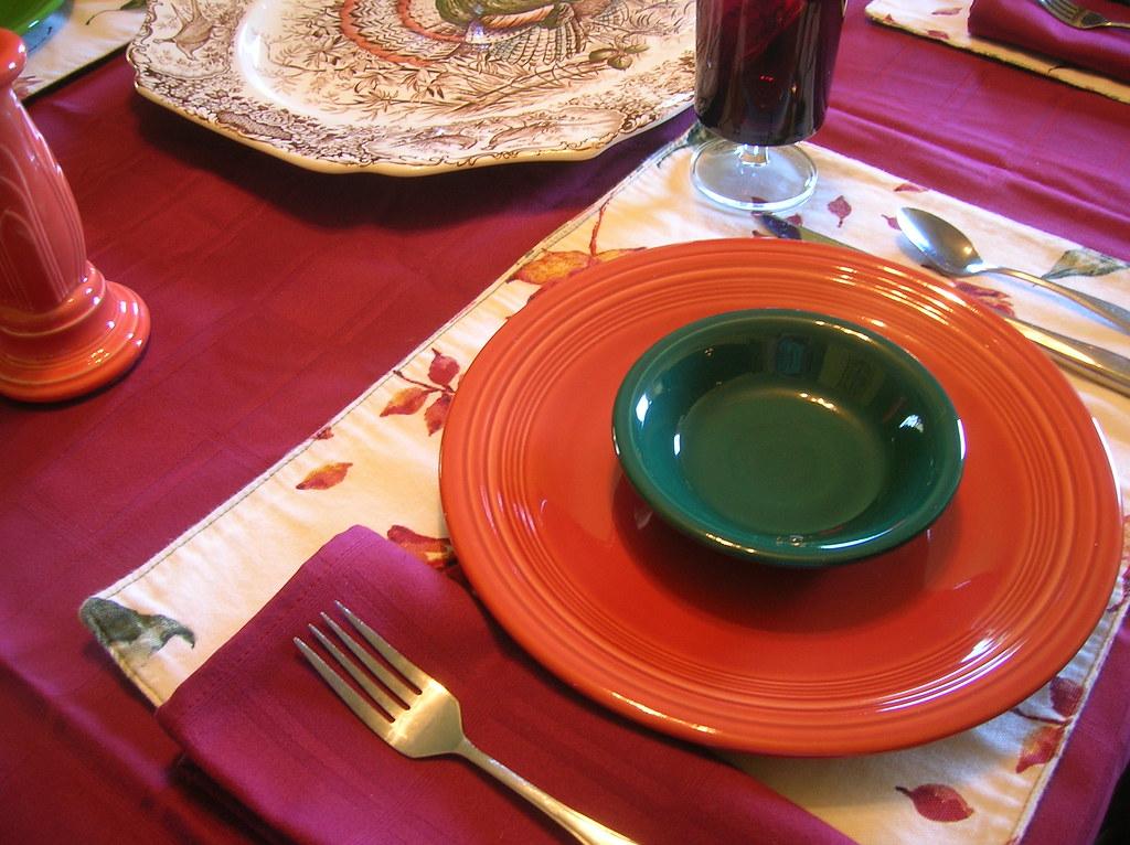 dumblady tags table fiesta plates - Fiesta Plates