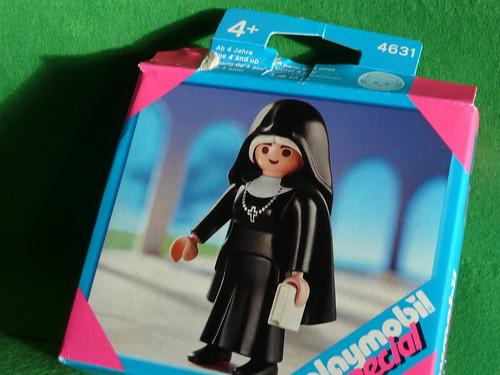 nun in a box