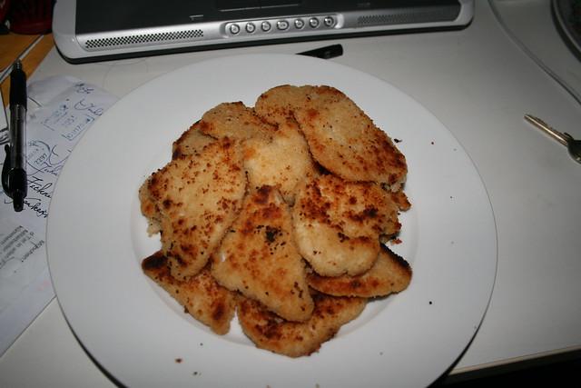 my first schnitzel