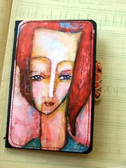 Notebook - Thinking (Susana Tavares) Tags: blue red inspiration art love moleskine words arte mixedmedia ilustrao notebooks palavras cadernos papergoods susanatavares afirmations