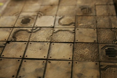 Hirst Arts: SciFi Floor Tiles