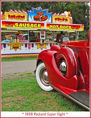 A hungry Packard, perhaps (sjb4photos) Tags: packard sausagestand autoglamma 1938packard 2010orphancarshow