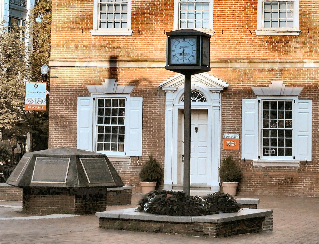 Heritage Center Clock - - Penn Square - Lancaster, PA