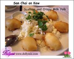 San Choi on Kew 寶和海鮮酒家 (Dollymic) Tags: food restaurant milk australia melbourne scallops crispy chineserestaurant yolk