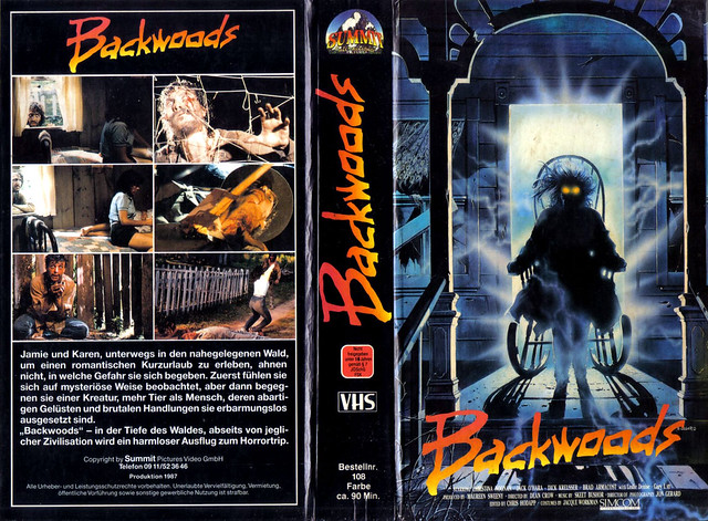 Backwoods (VHS Box Art)