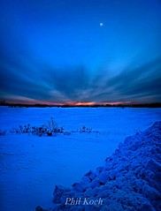 TwiLit (Phil~Koch) Tags: blue winter sunset snow wisconsin sunrise canon landscapes phil breath milwaukee 7d taking hue breathtaking scenics mequon racine koch kenosha horizons horizonsart