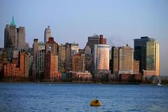 Manhattan Skyline from Jersey City - Exchange Place (Rubens Guelman - Flickr) Tags: city jerseycity jersey