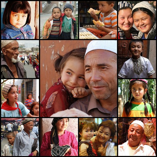 Portraits of the Uyghur People of Xinjiang by franceseattle