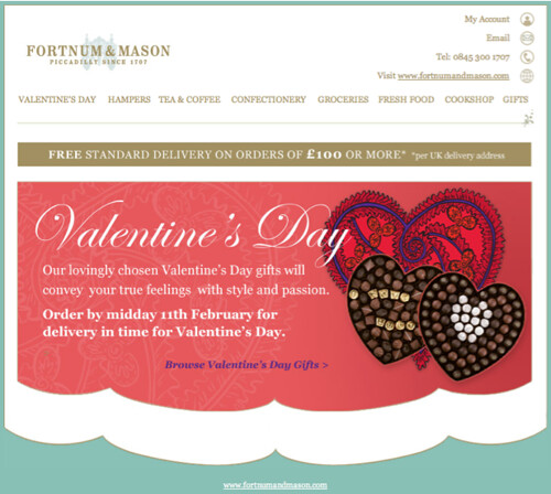 Valentine S Day Email Marketing Roundup The Marketing Automation Blog