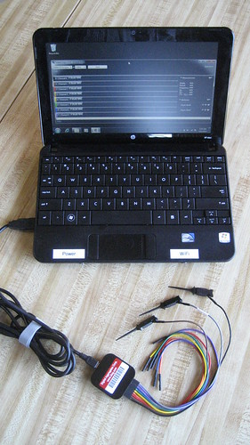 Saelae Logic with HP 110 Mini Netbook