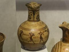 "Greek Archaic Pottery – LG Trefoil Oinochoe (egisto.sani) Tags: atene lgp man museoarcheologiconazionale oinochoe ""trefoil oinochoe"" ""attic pottery"" ""ceramica attica"" ""greek ""ceramica greca"" ""arte ""greek art"" ""late geometrical period"" ""periodo tardo geometrico"" ""lg athens ""national archaeological museum"" ""museo archeologico nazionale"" nm 811"