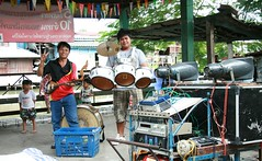 two-man band (the foreign photographer - ฝรั่งถ่) Tags: two man band instruments khlong thanon portraits bangkhen bangkok thailand canon kiss