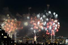4th of July 2017 Macy's Fireworks-79 (Diacritical) Tags: brooklyn nycmacys nikond4 pattern 70200mmf28 30secatf71 july42017 85043pm f71 230mm 4thofjuly fireworks macysfireworks nyc night skyline