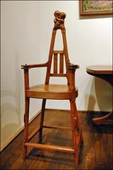 Chaise art nouveau (musée des arts décoratifs)