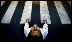 My Road. My Music. {Flickr Front Page :) } (Prabhu B Doss) Tags: road portrait music nikon keyboard piano explore pianist manu fp frontpage infosys zebracrossing composer keyboardist d80 flickrexplorefrontpage prabhub prabhubdoss manushrivastava zerommphotography 0mmphotography