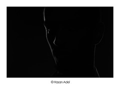 Ghost (HASAN_ADEL) Tags: light bw canon key low ghost saudi arabia l rim lowkey 450 ksa 24105     450d