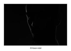 Ghost (HASAN_ADEL) Tags: light bw canon key low ghost saudi arabia l rim lowkey 450 ksa 24105 السعودية العربية شبح المملكة 450d كانون ابيض واسود