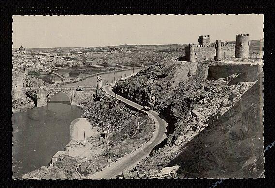 Castillo de San Servando hacia  1955. Foto EFI