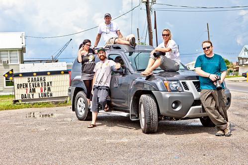 Team Photo: TEDxOilSpill Expedition