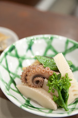 筍と蛸の煮物, 日本料理 蘭, 新潟